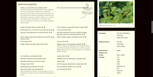 monograph: medicinal properties